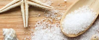 Маска для волос с морской солью