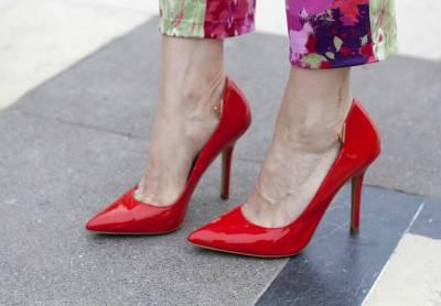 Обувь с острым мыском